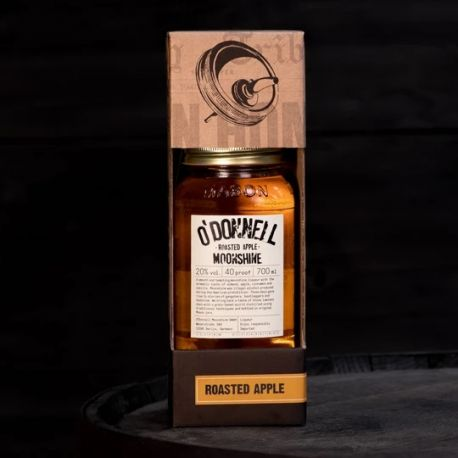 "O'Donnell pack ""Roasted Apple"" (700ml, 20% vol.)"